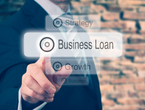 Lending to businesses is still ebbing