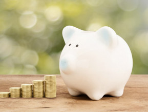 Savings in banks going up