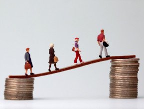 Despite rising wages the pay gap remains significant
